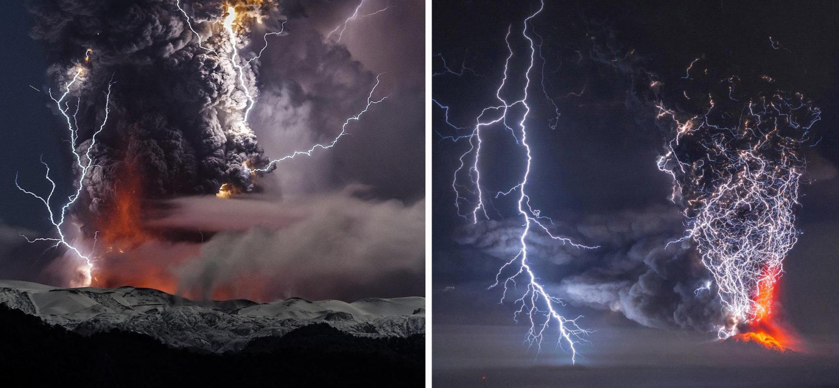 Wonderful Volcanic Smoke With Streaks of Lightning by Francisco Negroni 5 Wonderful Photography between Volcanic Smoke With Streaks of Lightning by Francisco Negroni