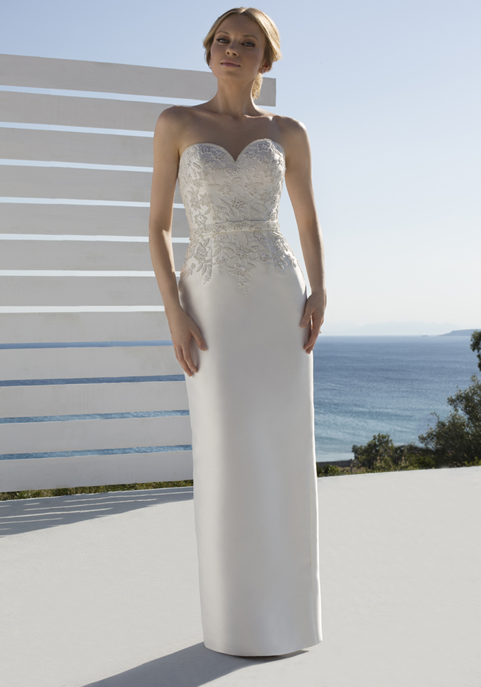 Beautiful Column Wedding Dresses 2 Best Wedding Dress Ideas for Beautiful Brides