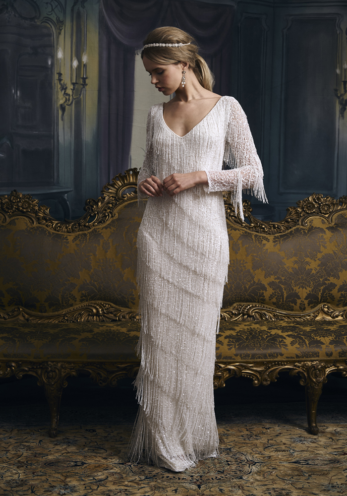 Beautiful Column Wedding Dresses 4 Best Wedding Dress Ideas for Beautiful Brides
