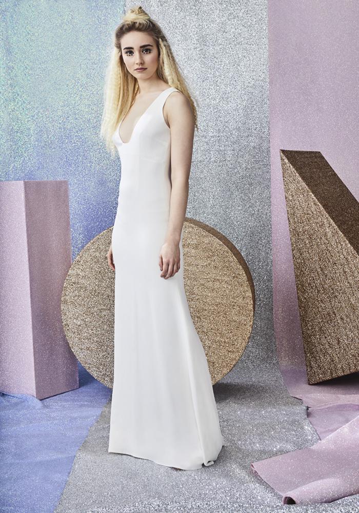 Beautiful Column Wedding Dresses Best Wedding Dress Ideas for Beautiful Brides