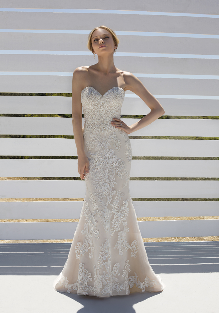 Beautiful Fit 'n' Flare Wedding Dresses 2 Best Wedding Dress Ideas for Beautiful Brides