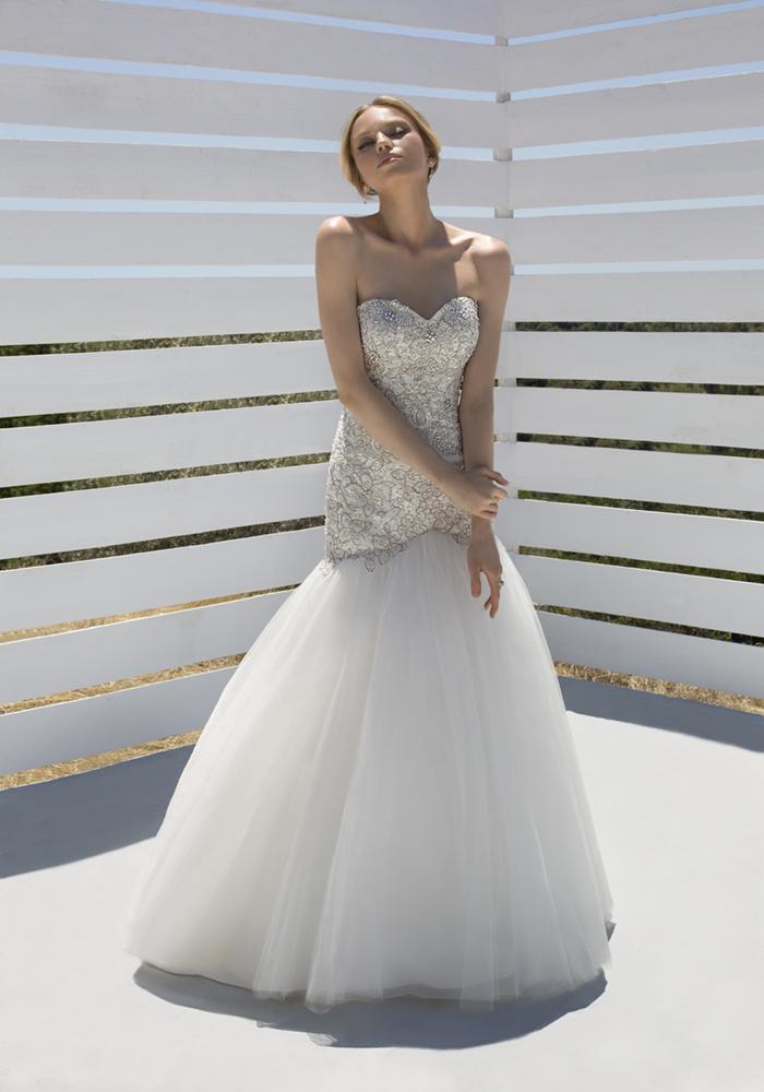 Beautiful Fit 'n' Flare Wedding Dresses 3 Best Wedding Dress Ideas for Beautiful Brides