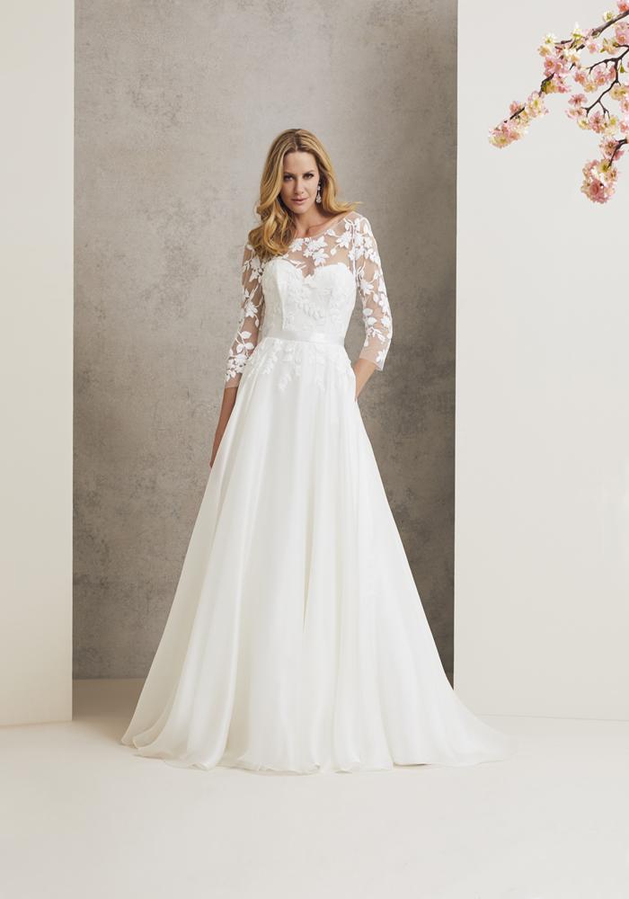 Beautiful Illusion Wedding Dresses 1 Best Wedding Dress Ideas for Beautiful Brides