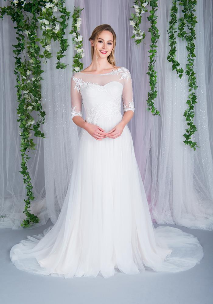 Beautiful Illusion Wedding Dresses 5 Best Wedding Dress Ideas for Beautiful Brides