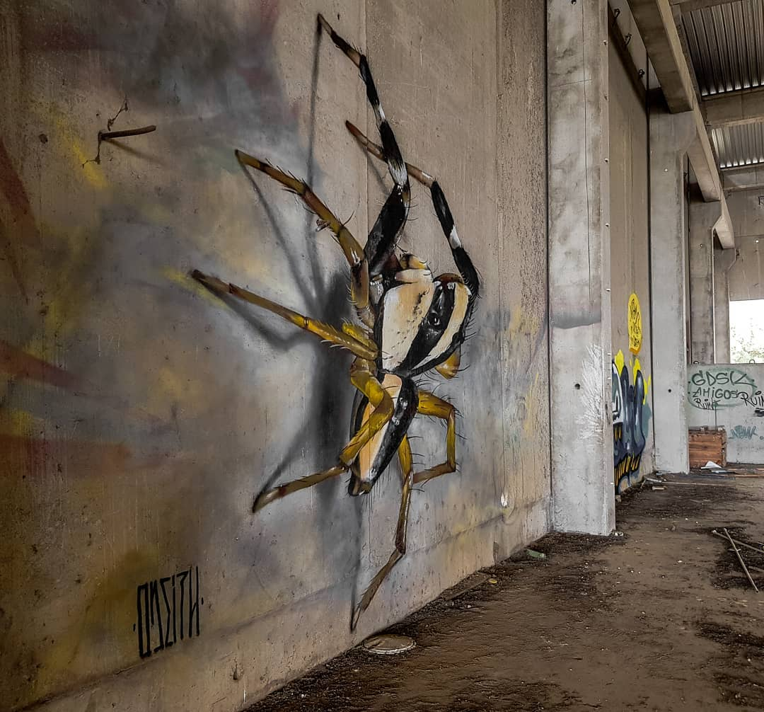 Mind Blowing Street Art by Odeith 1 Mind Blowing Street Art by Odeith