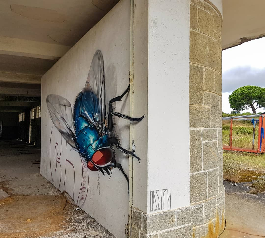 Mind Blowing Street Art by Odeith 2 Mind Blowing Street Art by Odeith
