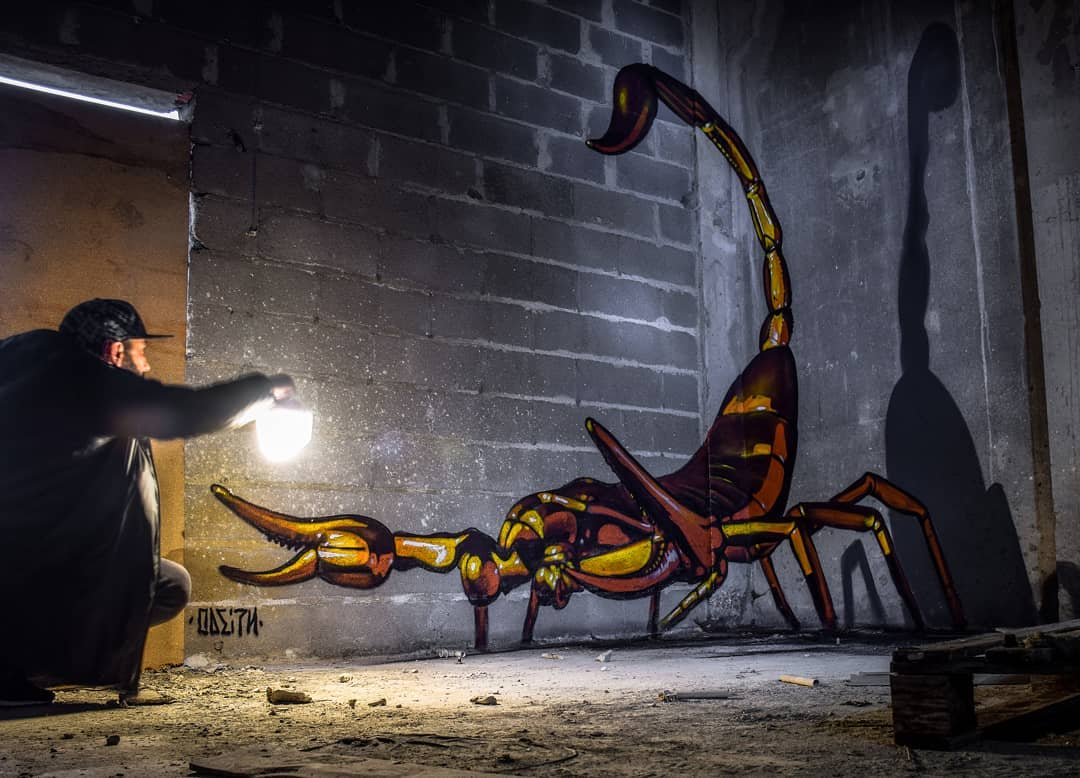 Mind Blowing Street Art by Odeith 7 Mind Blowing Street Art by Odeith