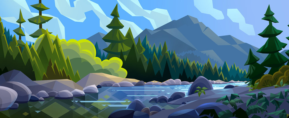 Beauty Landscapes Illustrations By Laura Bifano 1 Beauty Landscapes Illustrations By Laura Bifano