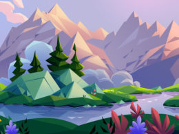 Beauty Landscapes Illustrations By Laura Bifano