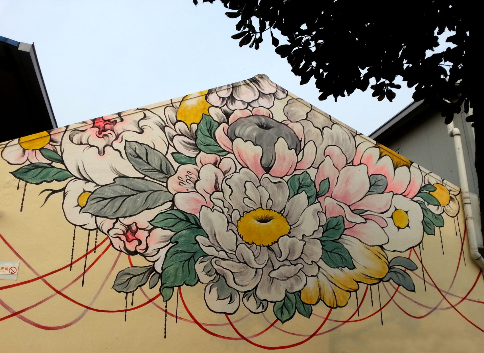 Stunning Huge Murals Floral by Ouizi 3 Stunning Huge Murals Floral by Ouizi