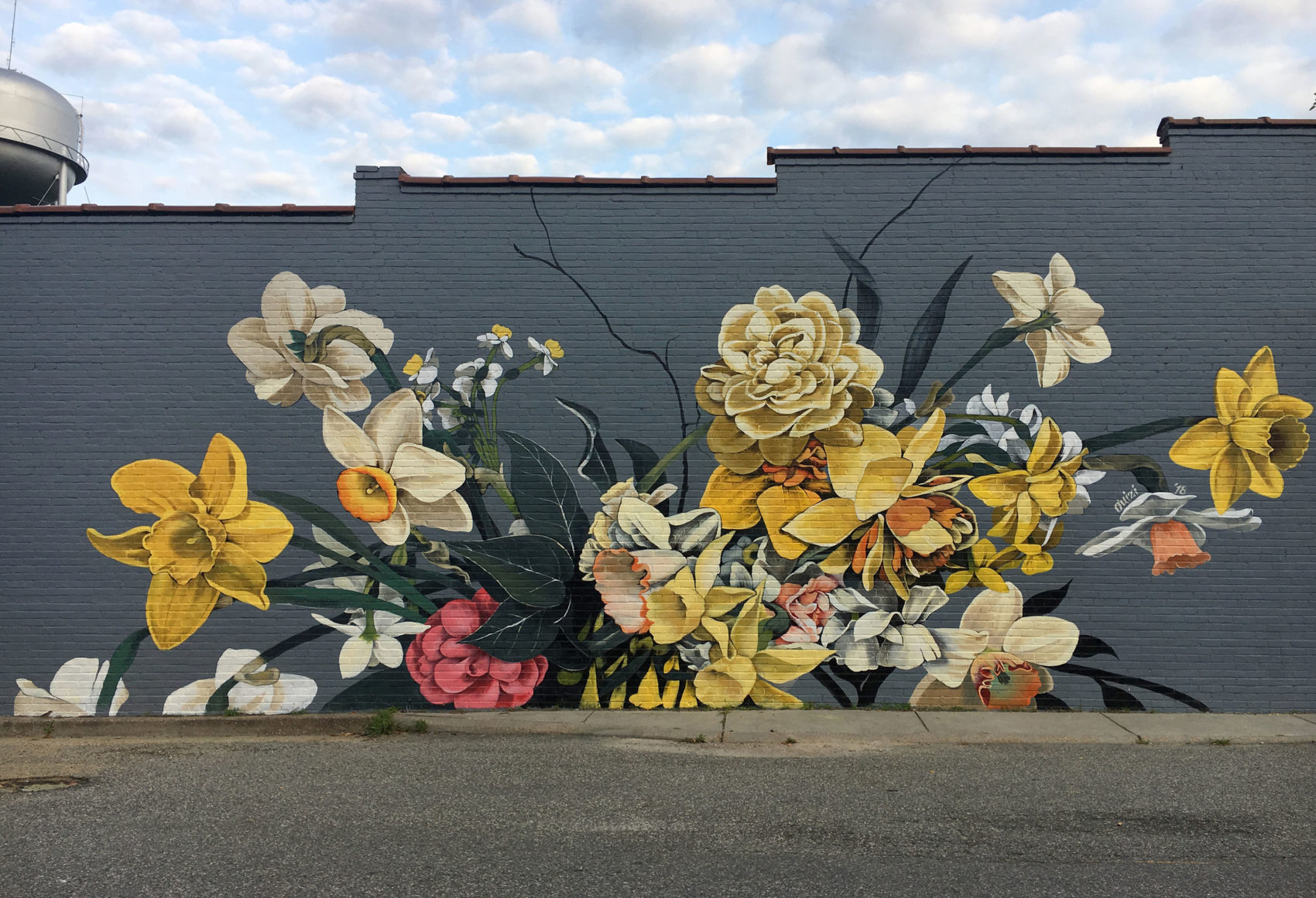 Stunning Huge Murals Floral by Ouizi 7 Stunning Huge Murals Floral by Ouizi