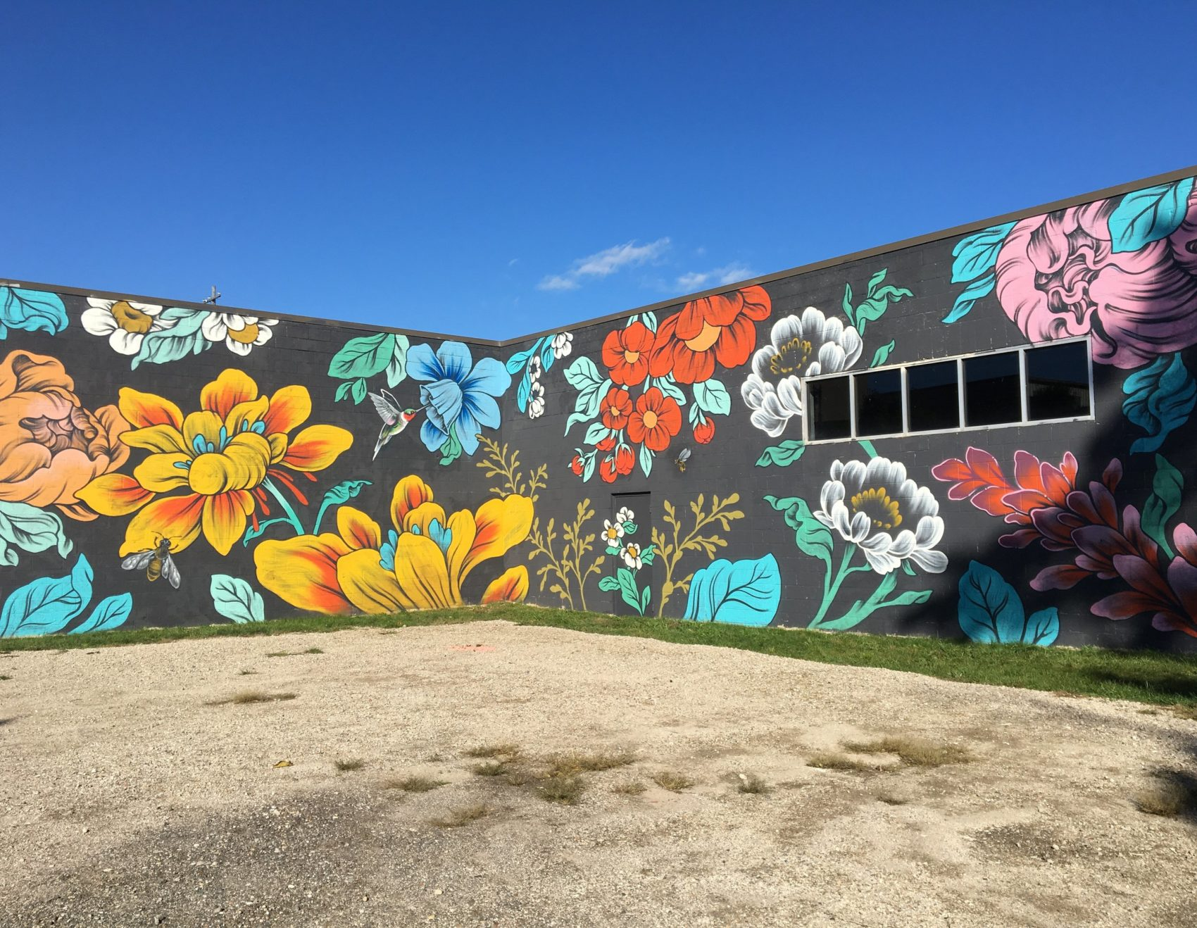 Stunning Huge Murals Floral by Ouizi Stunning Huge Murals Floral by Ouizi