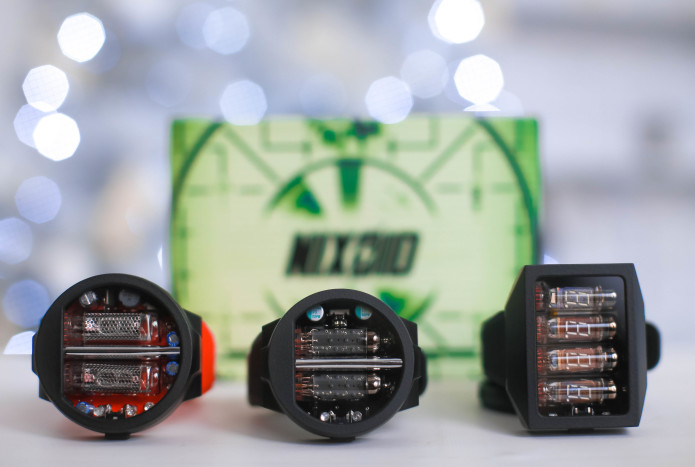 Excellent Nixie Watch ver. 1 NEW ENTRANTS TO THE NIXIE TUBE WRIST WATCH MARKET USES USSR MIL SPEC TUBES