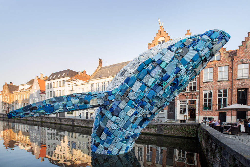 Wonderful Giant Whale Made of Plastic Waste 2 1024x683 Wonderful Giant Whale Made of Plastic Waste