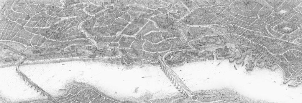 Mindblowing Urban Illustrations by Carl Lavia 1 1024x350 Stunning Urban Illustrations by Carl Lavia