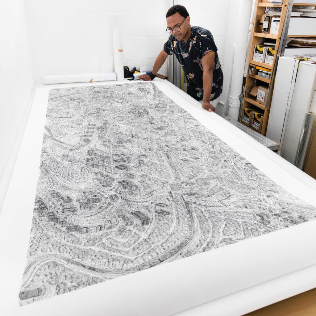 Mindblowing Urban Illustrations by Carl Lavia 1024x1024 Stunning Urban Illustrations by Carl Lavia