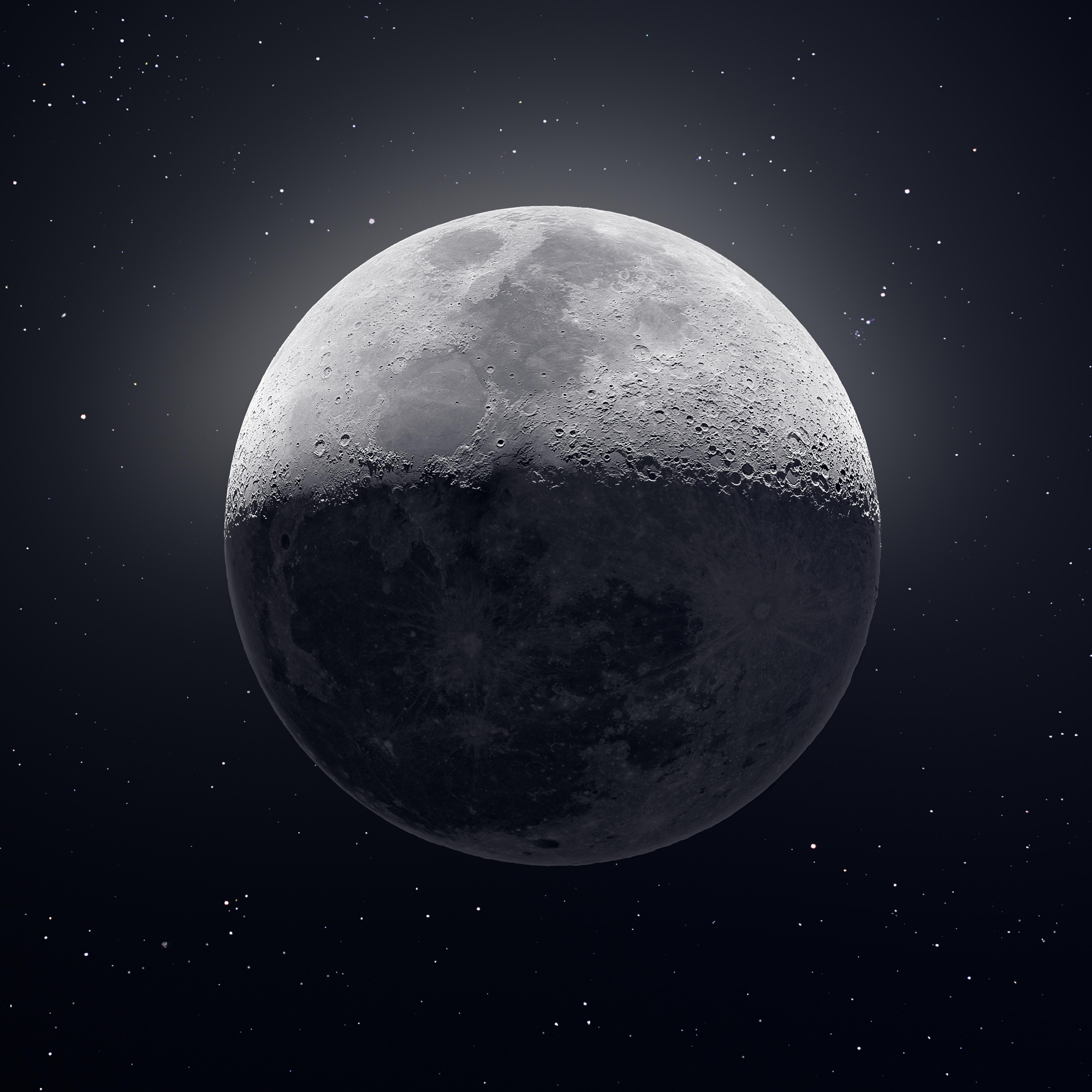 Awesome Moon Picture by Andrew McCarthy
