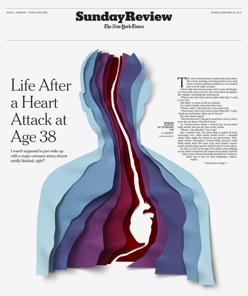 Stunning Paper Illustrations by Eiko Ojala 6 857x1024 Stunning Paper Illustrations and GIFs Explore the Body and Mind by Eiko Ojala
