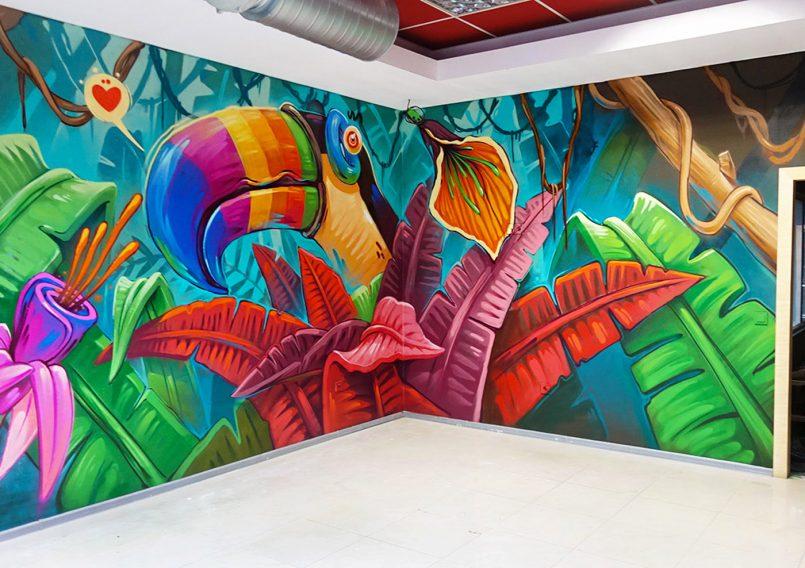 Mind-blowing Graffiti Interiors by Arsek Erase